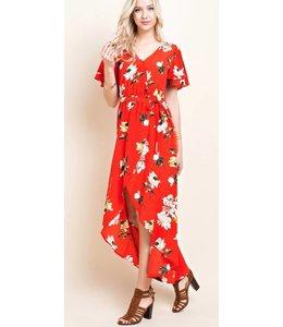 BH Floral Midi Dress 1506
