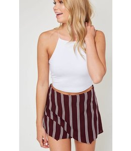 8c44d8fbc7a5 Tie up skirt. PLC Stripe Print Skort 28101