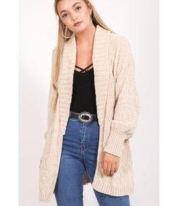 VJ Knitted Cardigan 1301