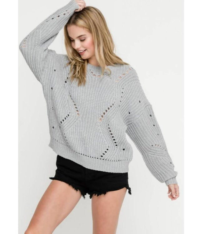 LSH Cable Sweater 13512