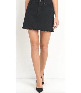 JP Mini Skirt Fringe Hem 110