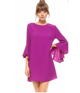 TC Flare Sleeve Dress 8232