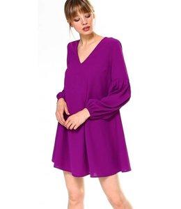 TC V Neck Dress 8560