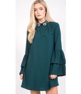 LR Jeweled Collar Dress 42623