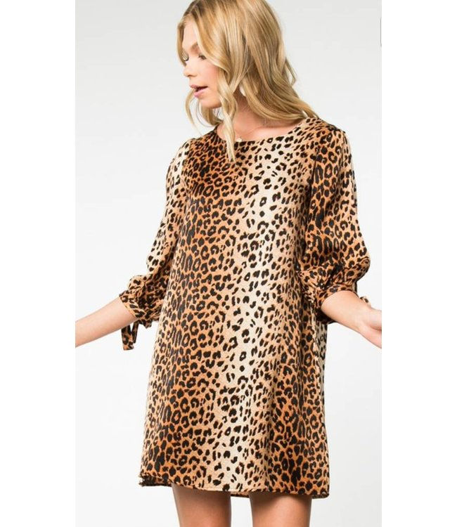 EV Animal Shift Dress 9098
