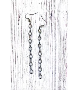 IDJ Crystal Shoulder Duster Earring 75
