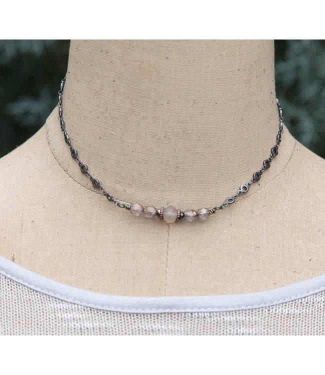 IDJ Blush Bar Necklace