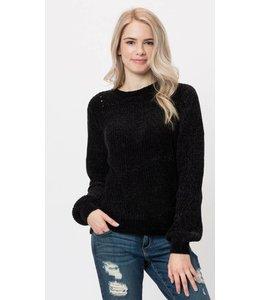 Shoe Shi Plush Sweater 9352
