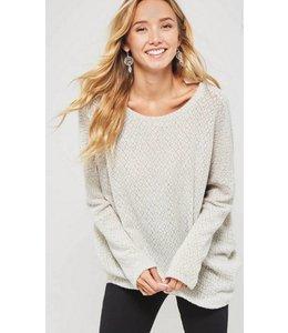 Shoe Shi Criss Cross Sweater 2482