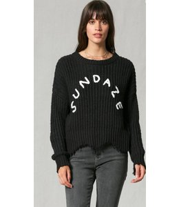 Shoe Shi Sundaze Distressed Sweater 1006