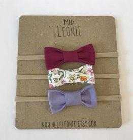 Mlle Léonie ML - Bandeau