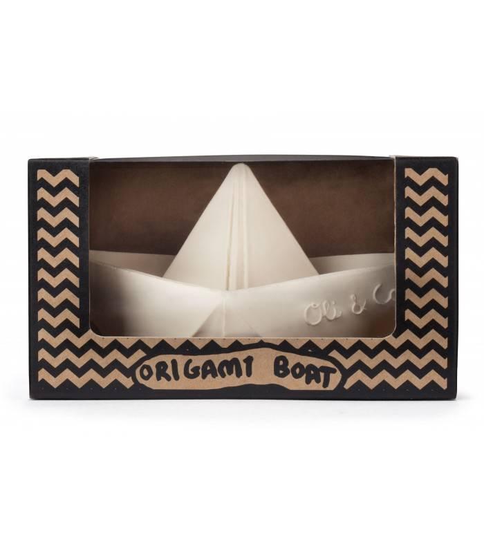 Oli & Carol Oli and Carol - Bateau Origami Blanc