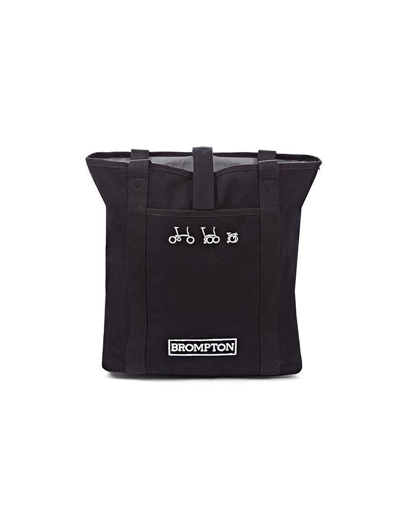 Brompton Brompton - Tote Bag incl cover + frame Black