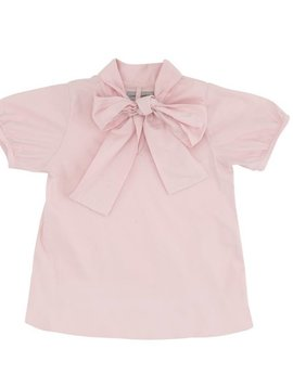 Christina Rohde Pink Top With Bow