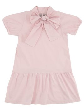 Christina Rohde Pink Dress With Bow