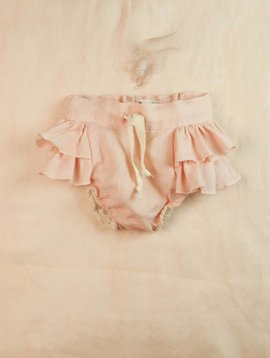 Popelin Culotte With Frills