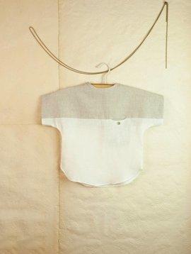Popelin Sand Linen Style Shirt