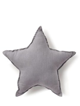Nana Huchy Star Cushion - Grey