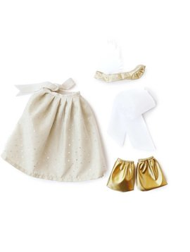 Hazel Village Silver & Gold Party Outfit