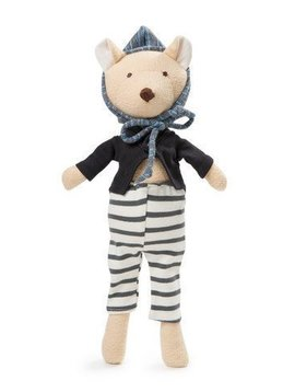 Hazel Village Nicholas Bear Cub In Tailcoat Outfit