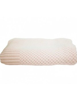 La Petite Collection Knitted Blanket Pink