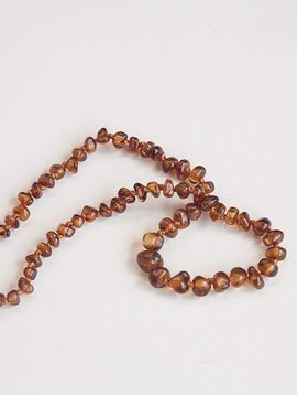 Summer & Storm Baltic Amber Necklace