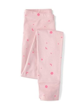 Sleepy Doe Mumma PJ Leggings - Pink W/Neon Moons
