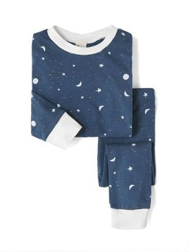 Sleepy Doe PJ Set - Galaxy