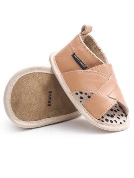 Pretty Brave Cross-Over Sandal (Tan)