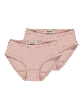 MarMar Copenhagen Ribbed Panties (2-Pack)