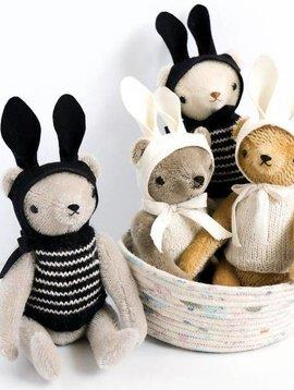Polka Dot Club PDC Floppy Bear (Knit+Rabbit Ears)