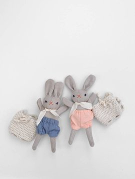 Polka Dot Club PDC Baby Rabbit & Backpack