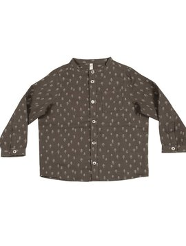 Rylee + Cru Trees Pocketed Shirt
