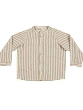 Rylee + Cru Stripe Pocketed Shirt