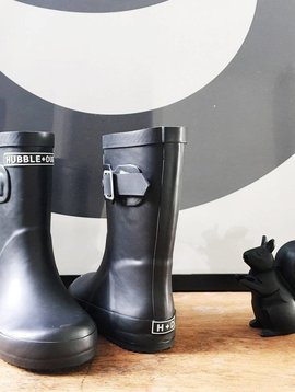 Hubble + Duke Gumboots - Black