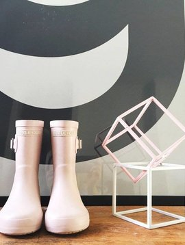 Hubble + Duke Gumboots - Blush Pink