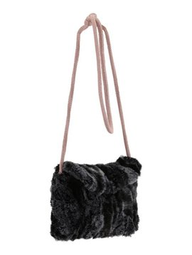 Christina Rohde Faux Fur Purse - Grey Mink