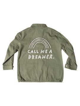 Rylee + Cru Dreamer Military Jacket