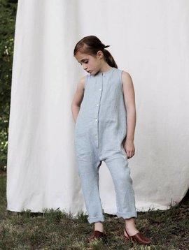 Soor Ploom Frankie Jumpsuit - Moonstone Linen