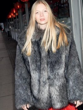 Christina Rohde Faux Fur Jacket