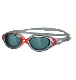 Zoggs Zoggs Predator Flex Silver/Red Goggles