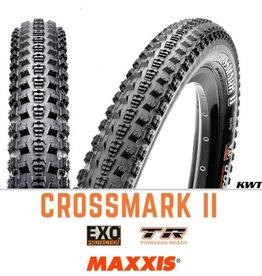 MAXXIS Maxxis Crossmark II 27.5 x 2.25 EXO TR BLACK