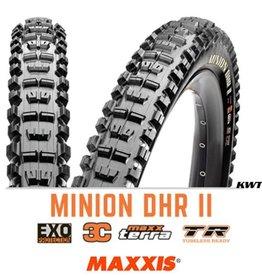 MAXXIS Maxxis Minion DHR II Rear 29 x 2.3 EXO 3C TR BLACK