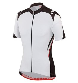 Castelli Vincent Jersey Full Zip Black/White