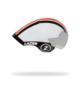 Lazer Wasp Air TT Helmet M/L  White Orange Black