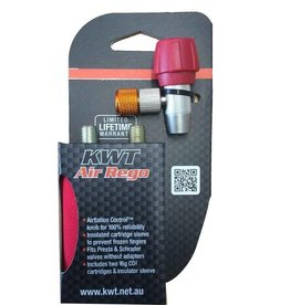 KWT Co2 applicator Head + 2 cartridges