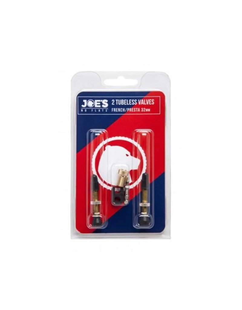 Joe's Joes Presta Valve 32mm Twin Pack