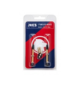 Joe's Joes Presta Valve Twin Pack 48mm