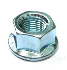 Axle nut 3/8 x 26t flanged