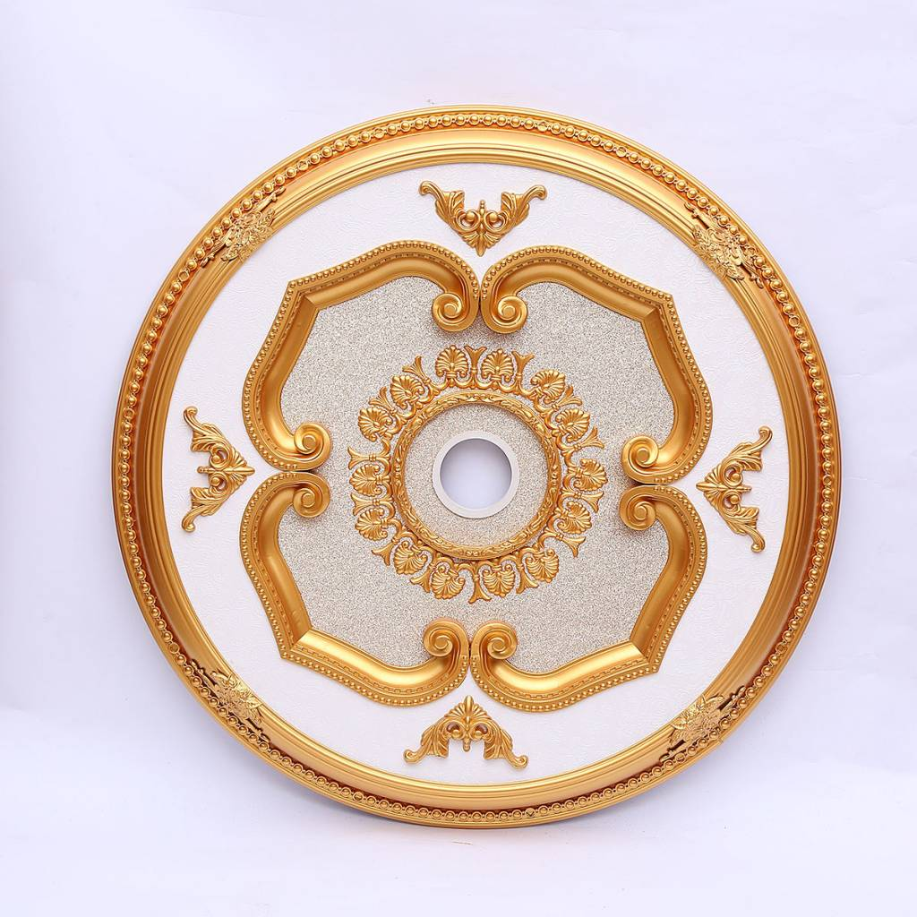 brass antique rl medallion a ruby mounting sold lane gilt ceiling for item century